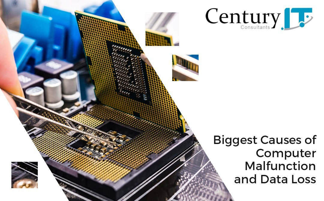 Biggest Causes of computer malfunction and data loss