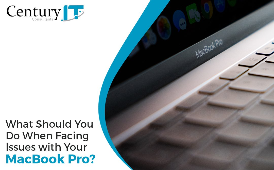 what should you do when facing issue with MacBook pro