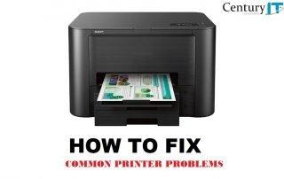 How to fix common printer problems