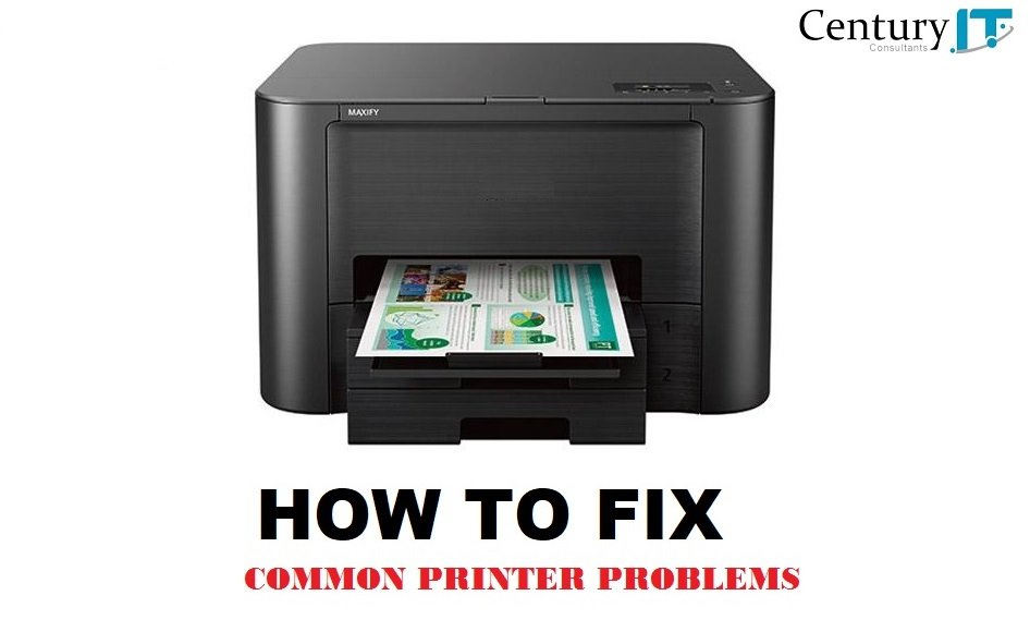 How to fix common printer problems