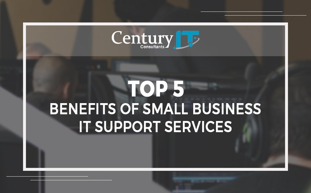 Top 5 benefits of IT Support services