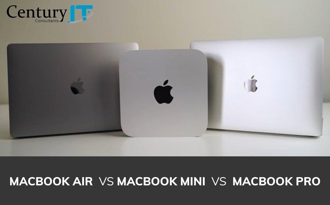 MacBook Air vs. MacBook Pro Vs. MacBook Mini